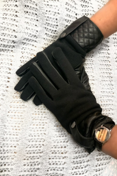 Shoptiques Product: Quilted Cuff Gloves