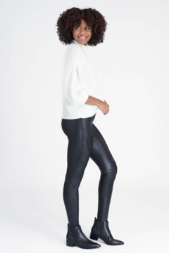 Spanx Quilted Faux Leather Legging - Product List Image