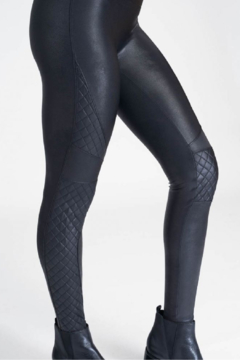 Spanx Quilted Faux Leather Legging - Alternate List Image