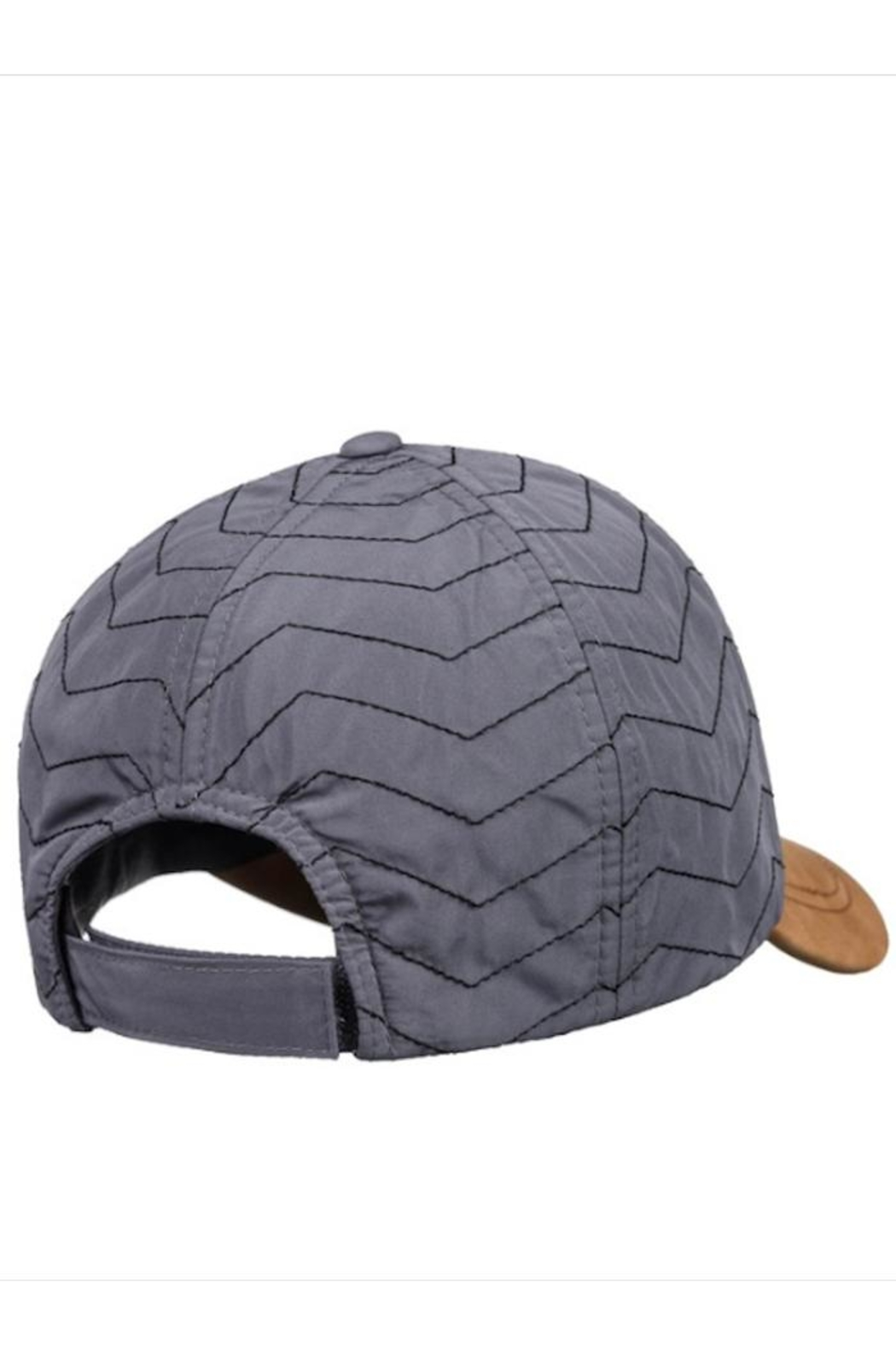 Roxy Quilted Faux-Suede Cap - Side Cropped Image