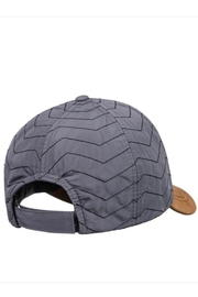 Roxy Quilted Faux-Suede Cap - Side cropped