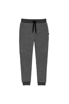 Deux Par Deux Quilted French Terry Jogger Pant - Alternate List Image