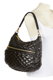 Clava Quilted Hobo Shoulder Bag - Product Mini Image