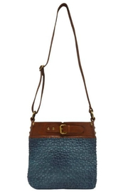 MHGS Quilted Leather Bag - Front full body