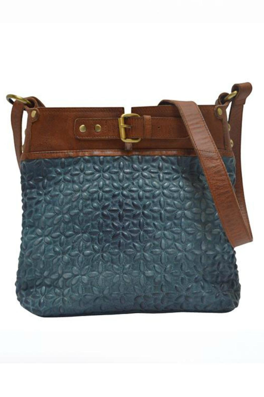 MHGS Quilted Leather Bag - Front Cropped Image