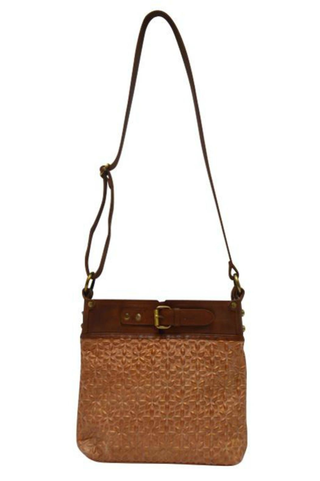 MHGS Quilted Leather Bag - Front Full Image