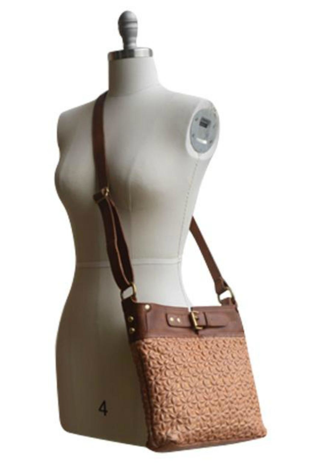 MHGS Quilted Leather Bag - Side Cropped Image