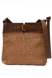 MHGS Quilted Leather Bag - Front cropped