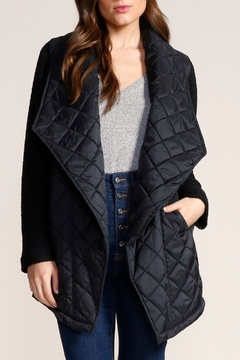 Jack by BB Dakota Quilted Long Jacket - Product List Image