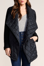 Jack by BB Dakota Quilted Long Jacket - Product Mini Image