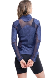 Society Quilted Mesh Jacket - Front full body