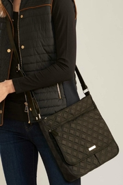 Charlie Paige Quilted Messenger Bag - Product Mini Image