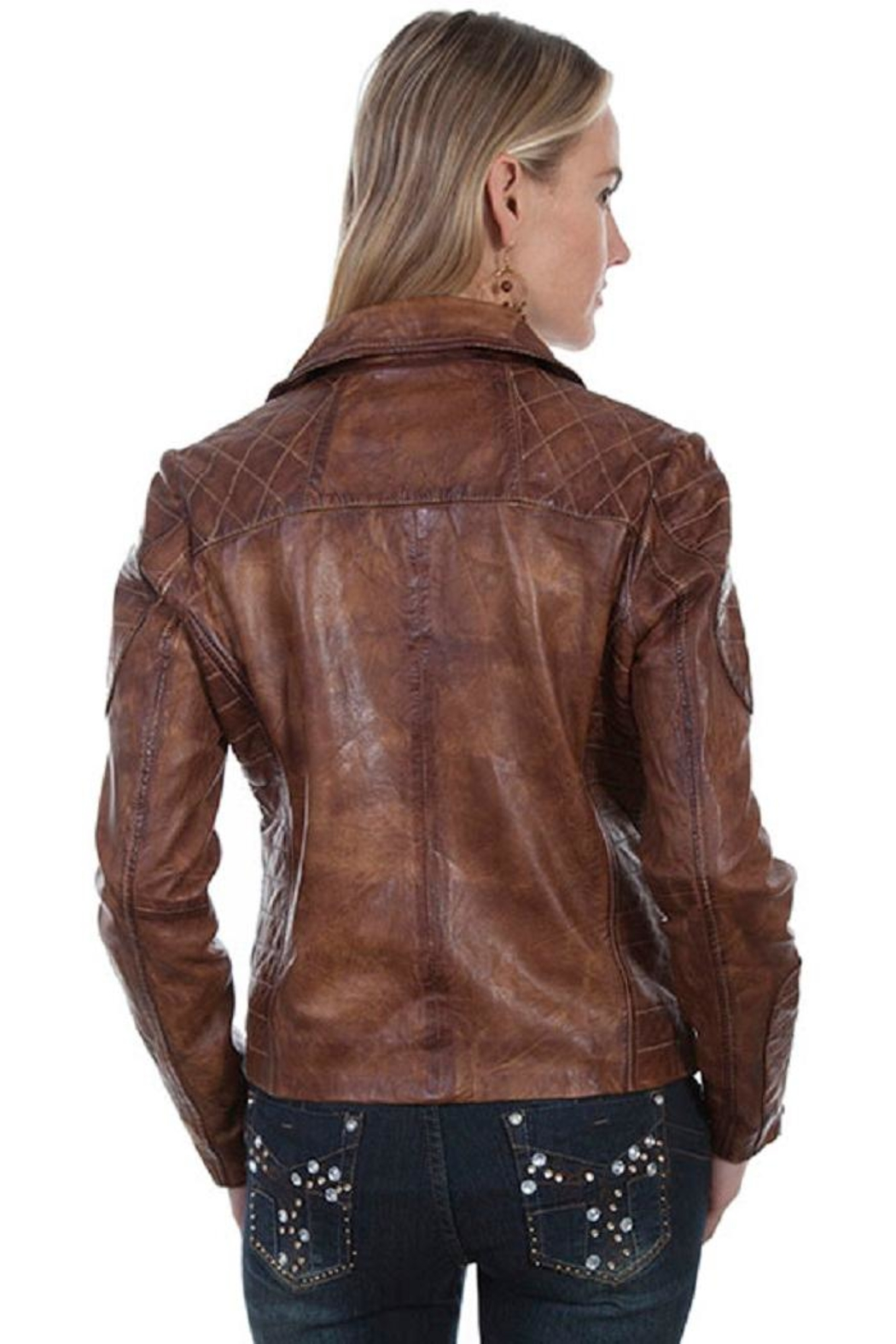Scully Quilted Moto Jacket - Side Cropped Image