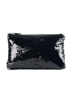 Sondra Roberts Quilted Patent / Sequin Reversible Clutch - Product List Image