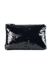 Sondra Roberts Quilted Patent / Sequin Reversible Clutch - Product Mini Image