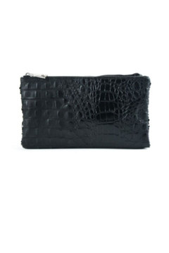 Sondra Roberts Quilted Patent / Sequin Reversible Clutch - Alternate List Image