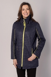 UBU Quilted Piped Jacket - Front cropped