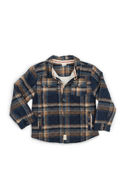 Egg  by Susan Lazar Quilted Plaid Harley Jacket - Front cropped