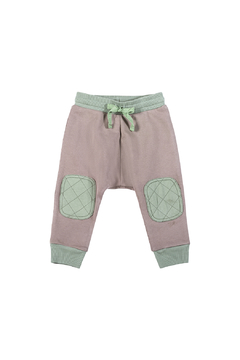 Paper Wings Quilted Pocket Organic Trackies - Product List Image