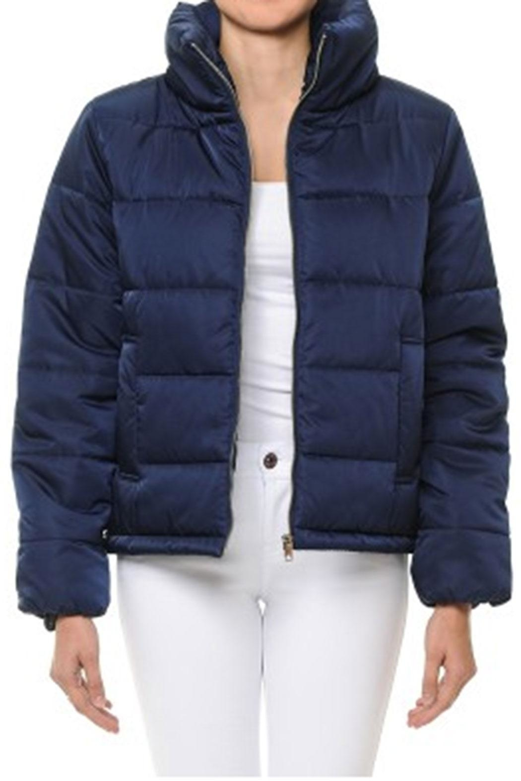 ambiance apparel Quilted Puffer Jacket - Main Image