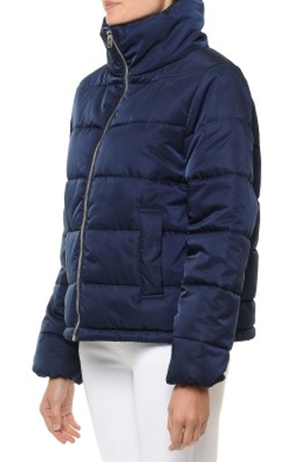ambiance apparel Quilted Puffer Jacket - Front Full Image