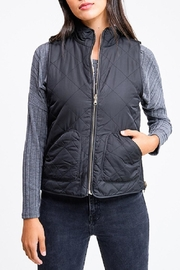 MONTREZ Quilted Reversible Vest - Front cropped