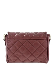 Rampage Quilted Studded Crossbody - Front full body