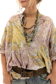 Magnolia Pearl Quilted Sunni Top - Back cropped