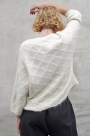 Wol Hide sweaters  Quilted V-Neck Pullover - Other