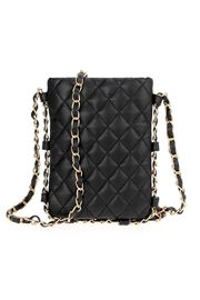 joseph d'arezzo Quilted Vegan Crossbody - Product Mini Image