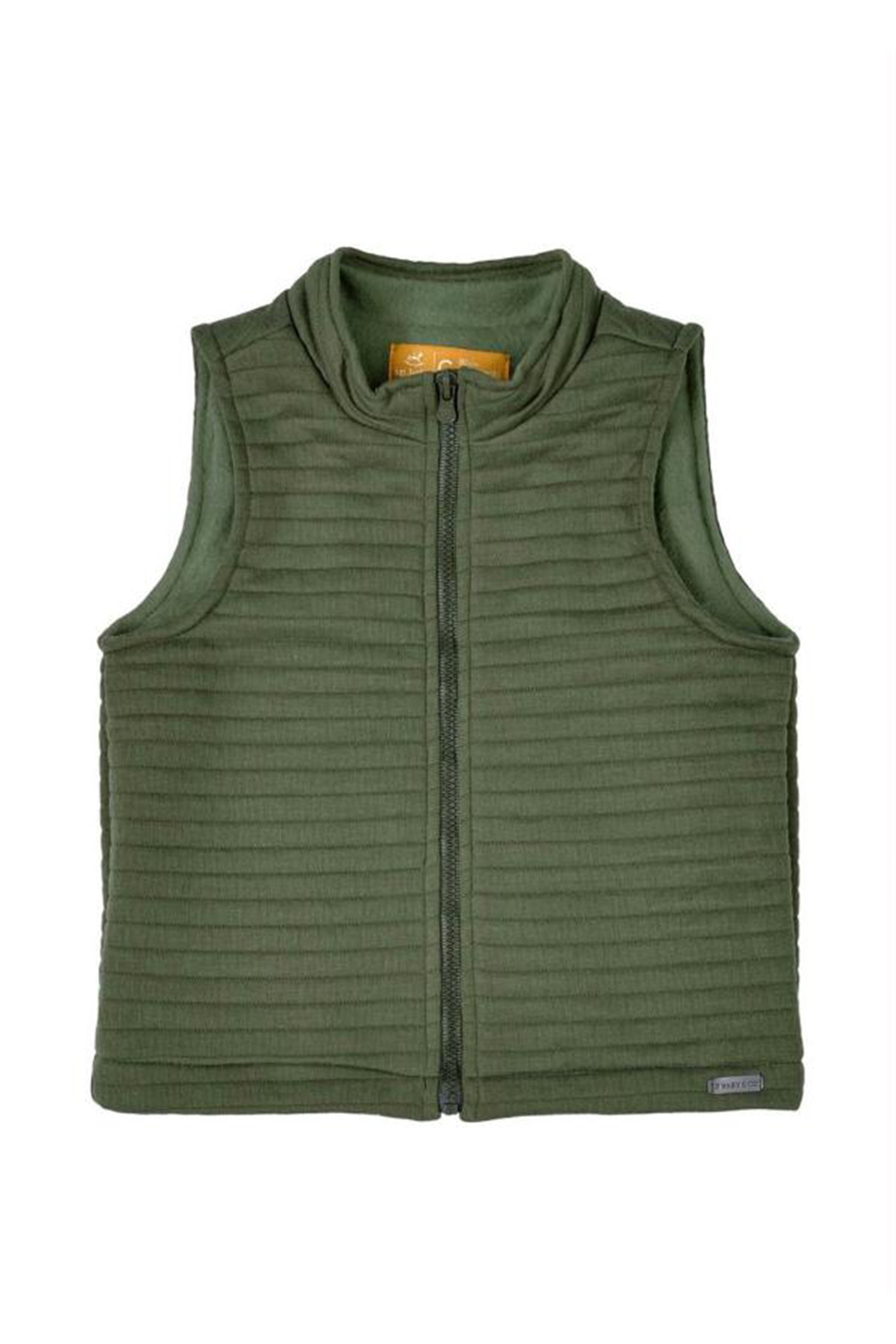 Up Baby Quilted Vest - Main Image