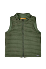 Up Baby Quilted Vest - Front cropped