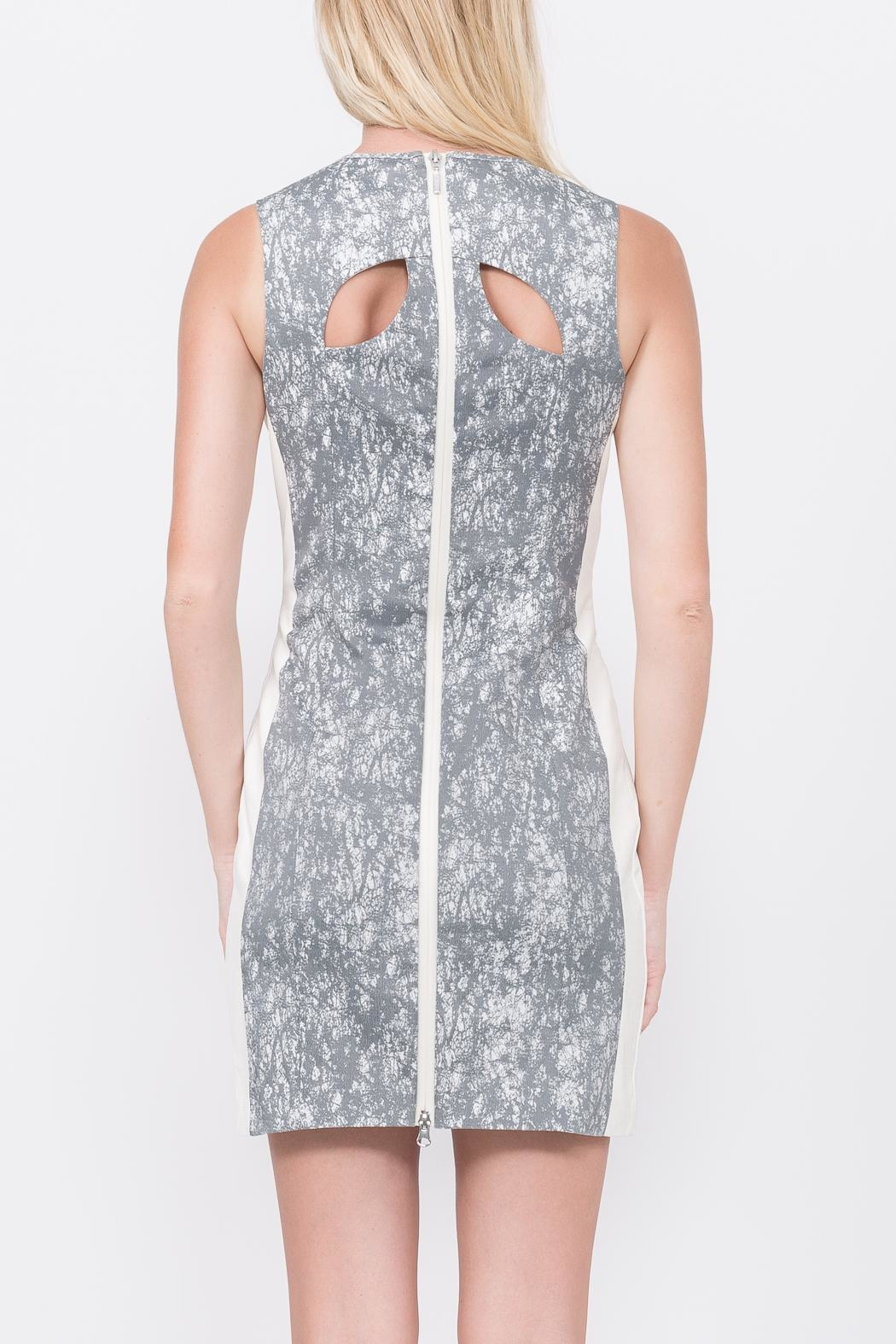 QUINN Calypso Paneled Dress - Side Cropped Image