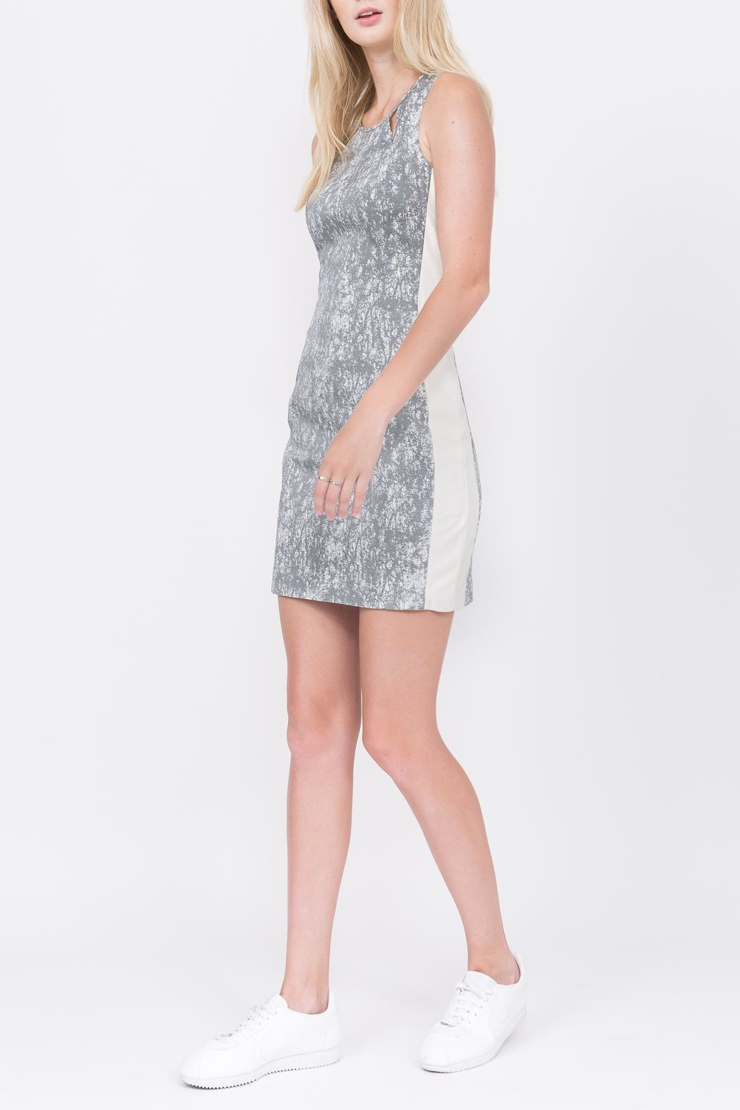 QUINN Calypso Paneled Dress - Front Cropped Image
