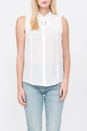 QUINN Chelsea Button Up Top - Front full body