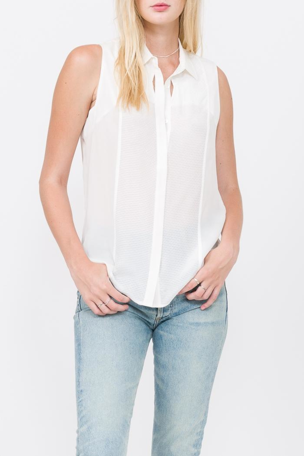 QUINN Chelsea Button Up Top - Main Image