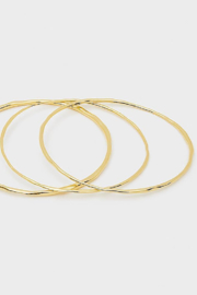Gorjana Quinn Delicate Bangle Set - Front cropped