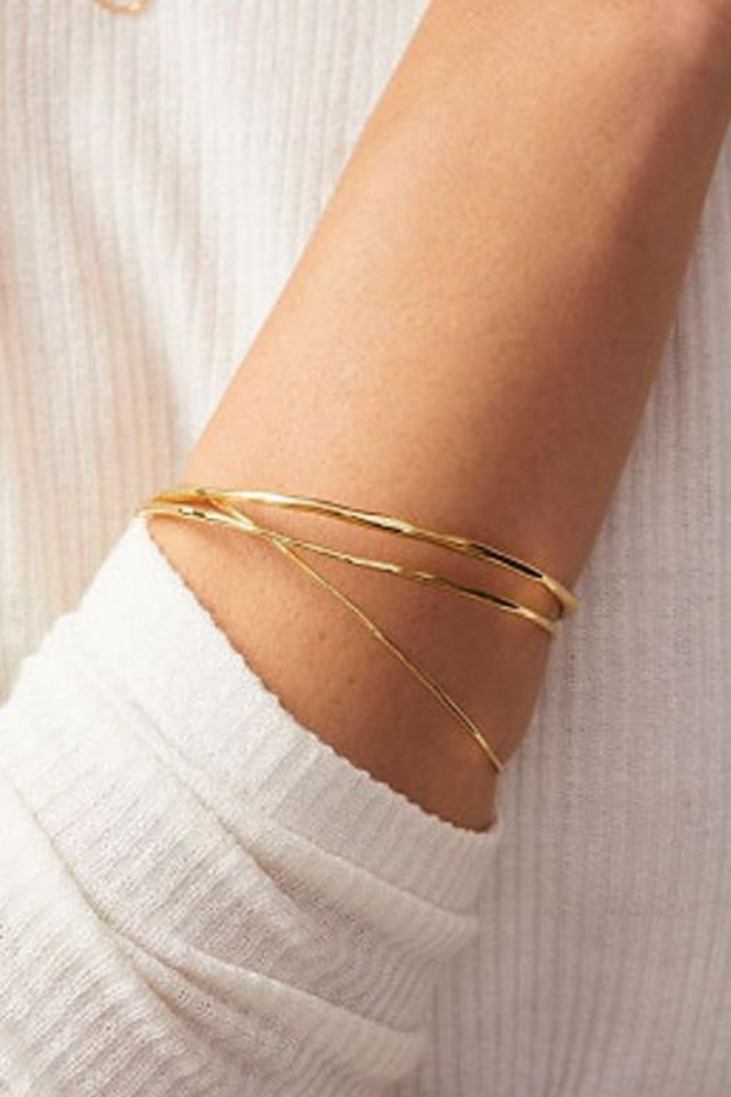 Gorjana Quinn Delicate Bangle Set - Front Full Image