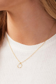 Gorjana Quinn Delicate Necklace - Side cropped