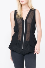 QUINN Dominique Vest - Front cropped