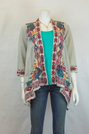 Johnny Was Quinn Draped Cardigan - Product Mini Image