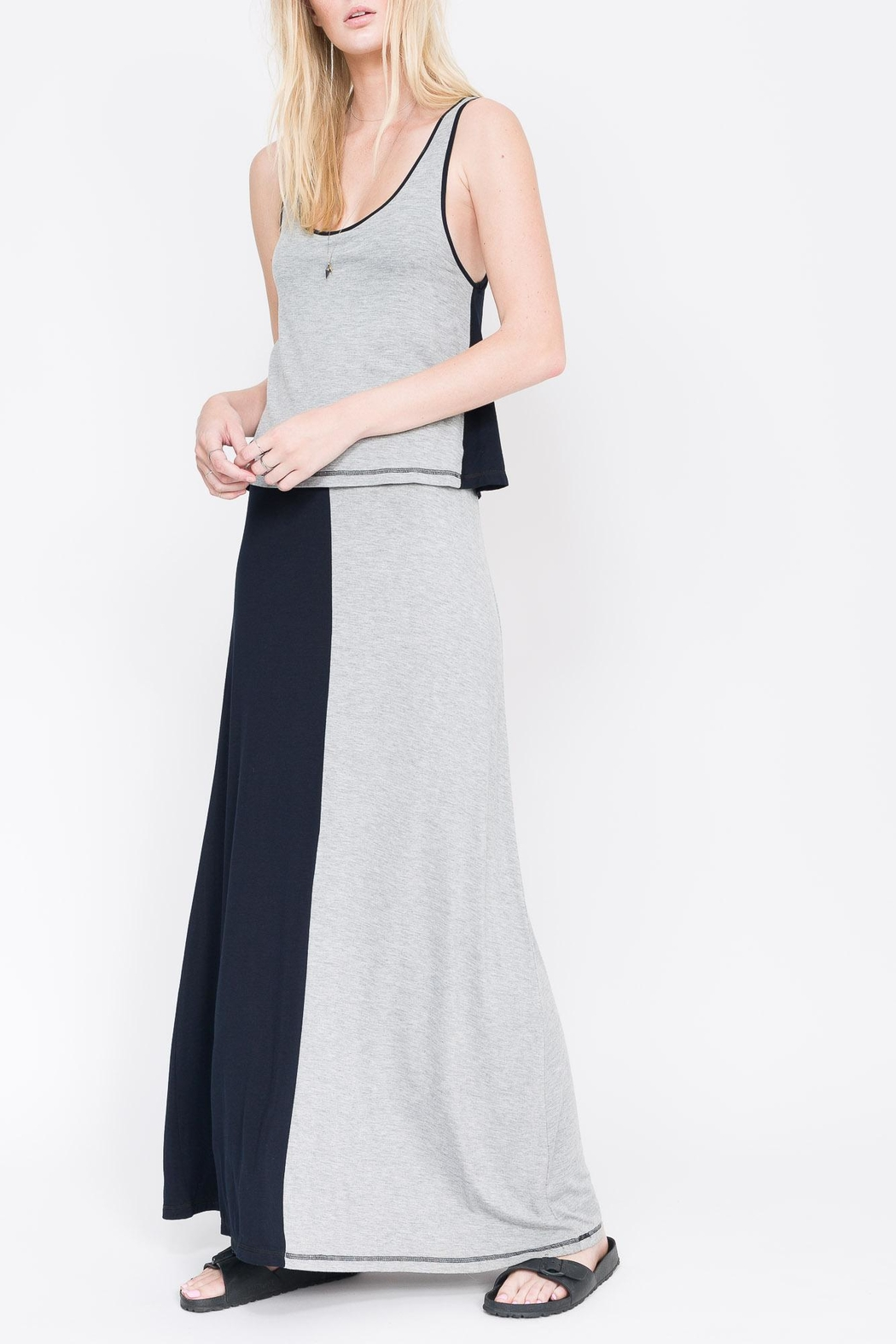 QUINN Emma Maxi Dress - Front Cropped Image