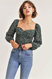 RESET BY JANE Quinn Floral Top - Product Mini Image