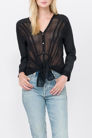QUINN Hayley Button Up Top - Product Mini Image