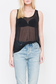 QUINN Kelsey Striped Tank Top - Front cropped