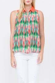 QUINN Layna Button Up Top - Product Mini Image