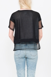 QUINN Lorraine Top - Back cropped