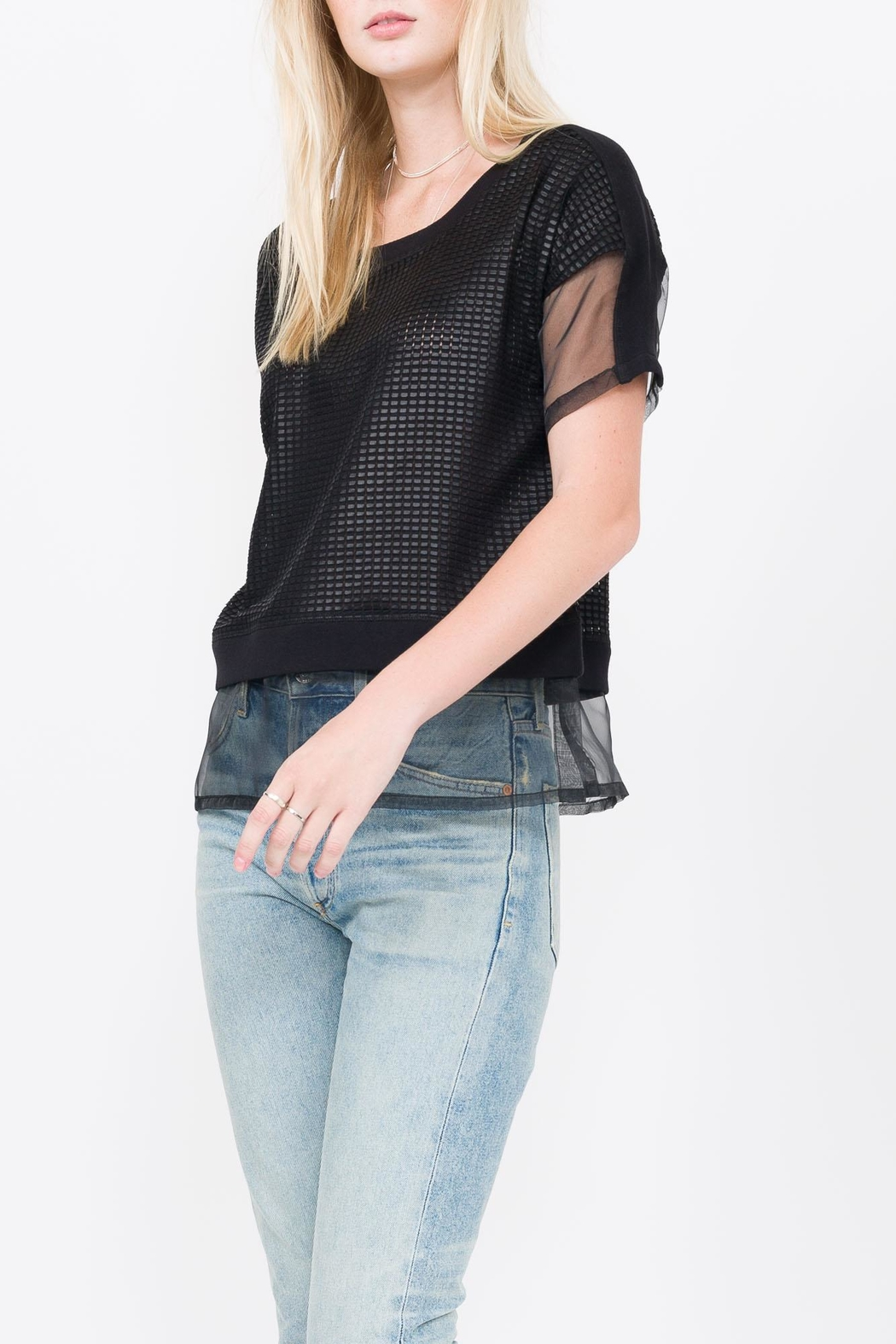 QUINN Lorraine Top - Front Cropped Image