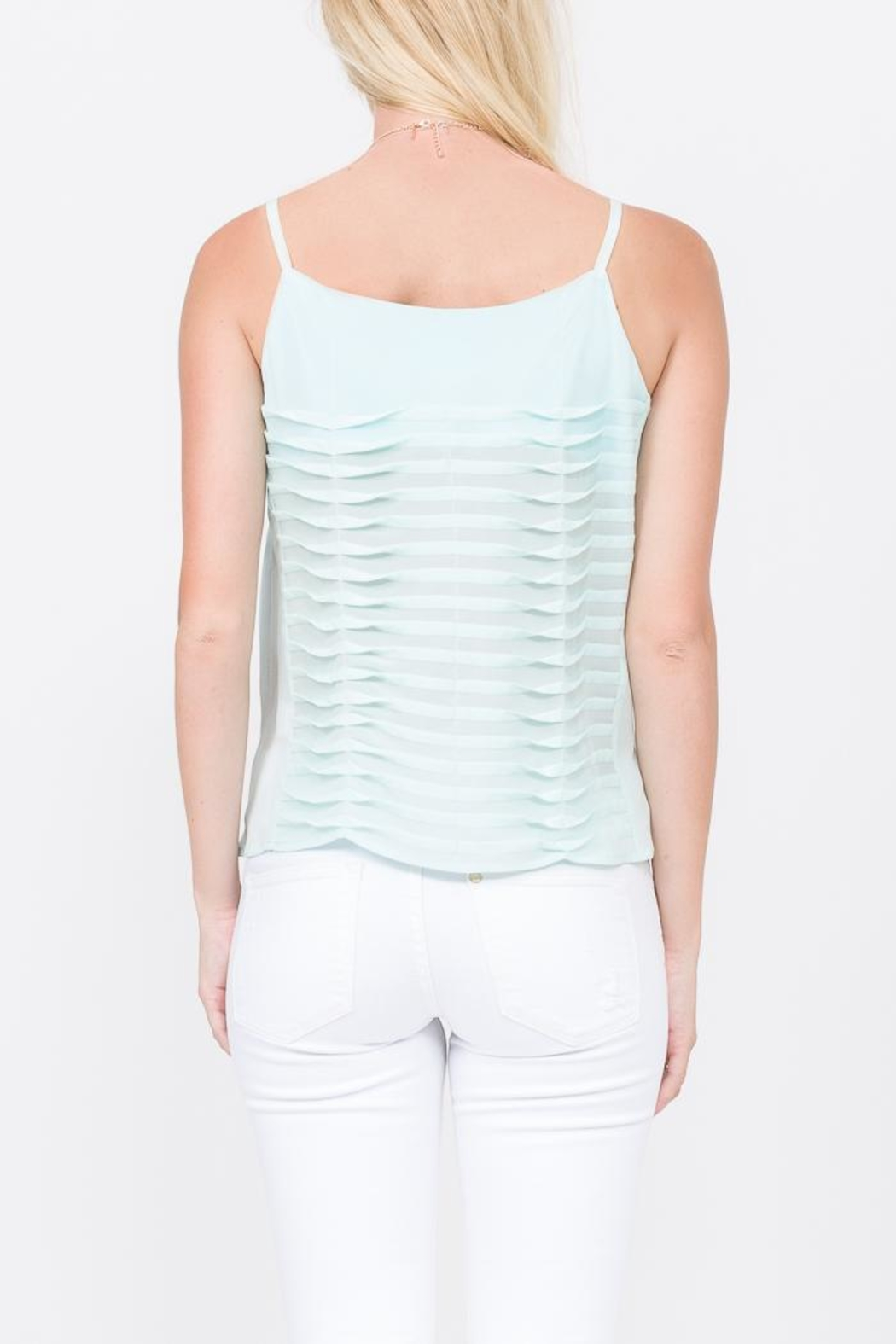 QUINN Lynn Wave Blouse - Side Cropped Image