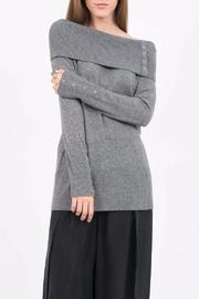 QUINN Off Shoulder Sweater - Product Mini Image